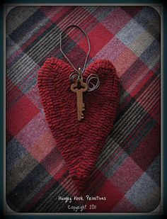 Cute hooked heart.