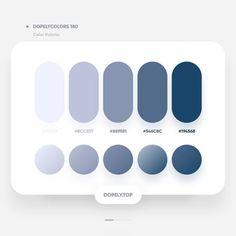 Color psychology meaning of Website Color Palette, Flat Color Palette, Colour Pallete, Colour Schemes, Pantone Colour Palettes, Pantone Color, Ui Color, Gradient Color, Color Psychology