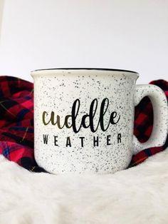 Dog Mom Discover Cuddle Weather Campfire Mug Christmas Style, Christmas Mugs, Xmas, Cute Coffee Mugs, Coffee Cups, Coffee Time, Autumn Coffee, Cute Cups, Happy Fall