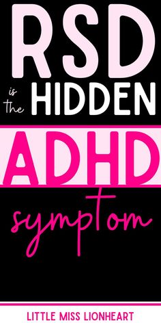 Many with ADHD (and unfortunately therapists and doctors, too) have no idea that emotions are often strongly impacted by ADHD. Hypersensitivity. Rejection Sensitive Dysphoria.All symptoms represented in research but not even part of the criteria for ADHD. Learn what it is, how to recognize it, and what to do about it! #ADHD #ADHDadult #ADHDkids #rejectionsensitivedysphoria #emotions Causes Of Adhd, Adhd Facts, Adult Adhd, Adhd Kids, Medical Information, Helping Others, Need To Know, Learning, Doctors
