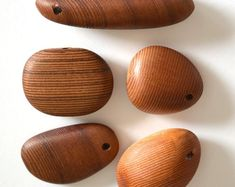 Wood Pendants: Cedar