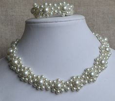 Hey, I found this really awesome Etsy listing at https://www.etsy.com/listing/196696575/ivory-pearl-setpearl-necklace-pearl