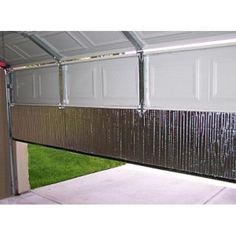 I really like this dazzling dark garage door Garage Door Insulation Kit, Garage Door Panels, Wood Garage Doors, Insulating Garage Walls, Painted Garage Walls, Basement Insulation, Garage Door Hardware, Best Garage Doors, Cool Garages