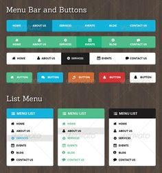 10 best navigation bars templates images on pinterest navigation