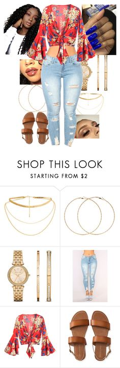 """""""March 26. 18✨"""" by amorjeslyne ❤ liked on Polyvore featuring Forever 21, Michael Kors and Aéropostale"""