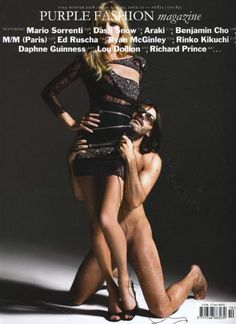 Kate Moss and Mario Sorrenti for Purple Fashion Magazine