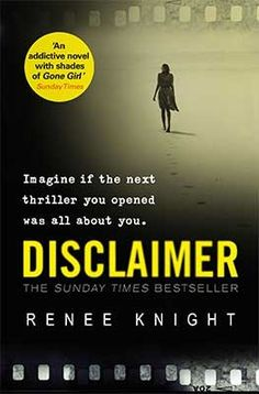 Disclaimer (Thriller of the month, Jan 2016) a good read, not my absolute fave…