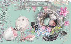 Happy Spring (Rendered by Erik Pedersen)