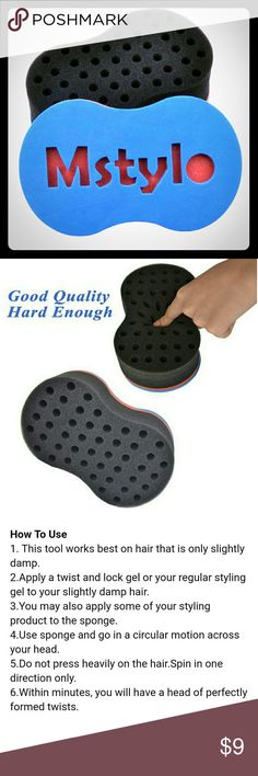 Afro Twist hair sponge , Brand New in package Easy to use to make perfect twists in little time. Other