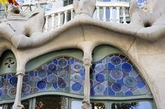 Works of Antoni Gaudí - Seven properties built by the architect Antoni Gaudí (1852–1926) in or near Barcelona testify to Gaudí's exceptional creative contribution to the development of architecture and building technology in the late 19th and early 20th centuries.  The seven buildings are: Parque Güell; Palacio Güell; Casa Mila; Casa Vicens; Gaudí's work on the Nativity façade and Crypt of La Sagrada Familia; Casa Batlló; Crypt in Colonia Güell.