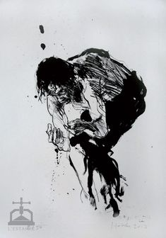 EXTRACTION 2- ext2013 - lithographie de Christophe HOHLER