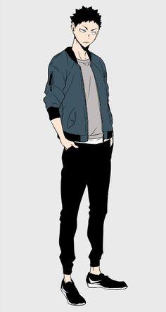 Character Poses, Comic Character, Character Concept, Character Design, Haikyuu Fanart, Haikyuu Anime, Anime Oc, Anime Guys, Kageyama Tobio