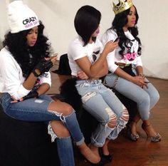 Pretty Girl Swag Squad