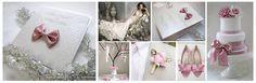 #romantic pink wedding theme
