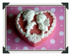 SOAP  FIRST LOVE Soap  Art Soap  Glycerin by SCENTSOFHUMORCANDLES, $7.99