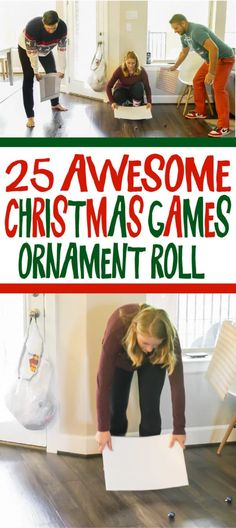 25 Hilarious Christmas Games for Any Age – Play Party Plan 25 hilarious Christmas minute to win it games for all ages Christmas Tree Game, Funny Christmas Party Games, Christmas Games For Adults, Xmas Games, Holiday Party Games, Office Christmas, Family Christmas, Christmas Humor, Christmas Parties