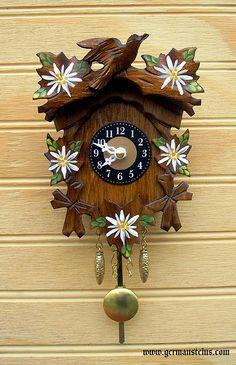 Edelweiss Cuckoo Clock!!!
