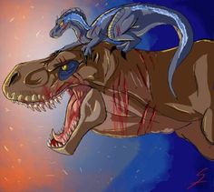 DeviantArt: More Like Indominus Rex by DeeJaysArt1993