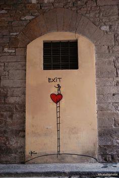 Exit Enter, Volta della Vecchia, Firenze (Toscana, Italy) - by Silvana, luglio 2014