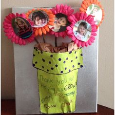 Teacher appreciation Thoughtful thank you  Springtime gift  Mothers day for grandma  Etc