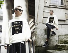Mikko Puttonen - Acne Studios Sweater, Isabel Marant Leather Pants, Viktor And…