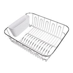 D.Line Chrome Large Dish Drainer
