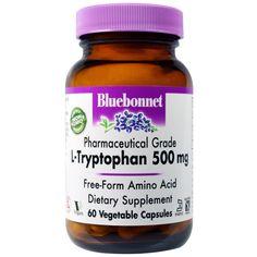 sports-fitness-athletic: Bluebonnet Nutrition, L-Tryptophan, 500 mg, 60 Veg...