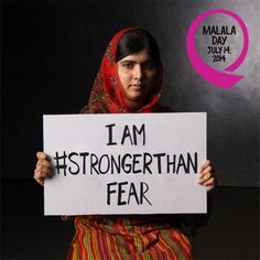 You can bring a #StrongerThan story to your classroom this Malala Day by visiting girlrising.com/for-educators/.