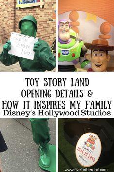 Toy Story Land Opening & Inspiring My Kids to Dream Big - Five for the Road #WaltDIsneyWorld #ToyStoryLand #disney