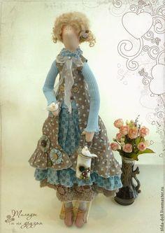 Купить Кукла в стиле Бохо: Веста - тильда, кукла Тильда, тильды, куклы тильды