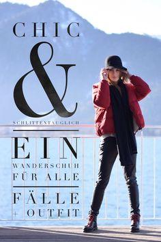 Chic & Schlittentauglich - Ein Wanderschuh für alle Fälle + Outfit susamamma.de  Das Outfit und den Wanderschuh findet ihr hier. #winteroutfit #boots #outfit #fashion #mama #mode #tegernsee #ausflugsziel