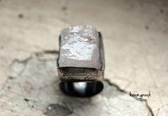 серебряное кольцо с кварцем купить honeypunk