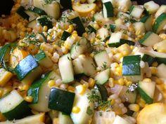Fresh Corn and Zucchini Sauté via @Sandy Coughlin | Reluctant Entertainer.com