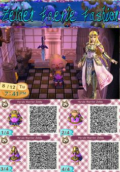 Hyrule Warriors Zelda: Animal Crossing New Leaf QR by ZeldaandFairies on DeviantArt