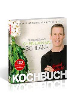 """""""Ich bin dann mal schlank - Das Koch- und Rezeptbuch"""". ISBN 9783932908637, von Bestseller-Autor Patric Heizmann hat schon vielen bei der Ernährungsumstellung auf gesund geholfen. Über 120 neue leckere Rezepte, super-schnell zubereitet, die automatisch fit und schlank machen. Überall im Buchhandel, auch bei Amazon: http://www.amazon.de/Ich-bin-dann-mal-schlank/dp/3932908635"""