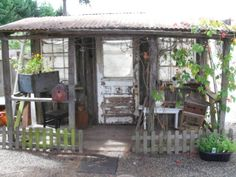 use under deck as my garden/hobby (shabby chic) shed.  come out from bottom of deck with a small maybe 12'' over hang to protect doors, window, and allow water to flow away.