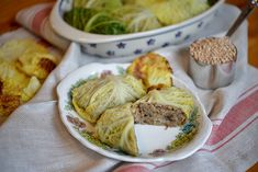 Making cabbage rolls is not hard, it just takes a bit of time. For a successful cabbage rolls day, plan ahead, prep your ingredients, then just add family and friends and have fun with it. Invite t… Polish Recipes, My Recipes, Polish Food, Recipies, German Recipes, Stuffed Mushrooms, Stuffed Peppers, Pickle Soup, Rezepte