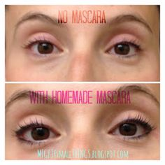Try this DIY Homemade mascara..Also shows where to buy tubes for mascara, etc. #diymascara | Organic Makeup Brands in 2018 | Pinterest | Homemade mascara, ...