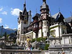 Located on Peles brook valley, on the spot named Pietrele Arse (the Burnt Stones), the Peles Castle, the most famous royal residence in Romania, was built between 1875 and 1883 – when it was officially opened. Oh The Places You'll Go, Places To Visit, Peles Castle, Black Church, Royal Residence, Beautiful Castles, Like A Local, Eastern Europe, Castles