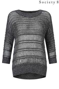 #knitwear #grey #open #next