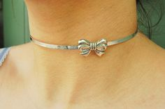 c7295e86e Solid 925 Sterling Silver Hypoallergenic Bow Neck Cuff Locking BDSM Slave  Sub Submissive Pet Baby Girl Bondage Day Collar ToBeHis