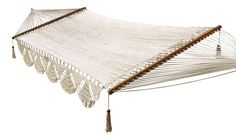 simple sand hammock from Wholestory - for every 100 hammocks sold they build a home for a family in need - 10% off with code: sfgirl100