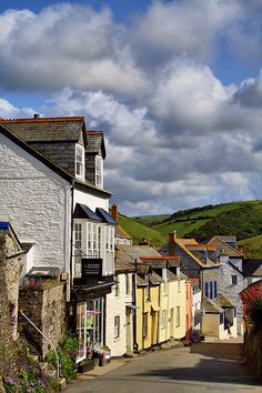 """The pretty village of Port Issac, on the north coast of Cornwall is the location used for """"Doc Martin"""""""