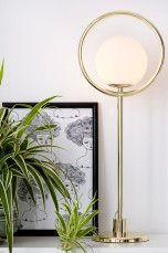 Ellos Home Bordslampa Saint Krom, Mässing - Bordslampor | Ellos Mobile