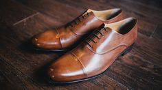 The Cagney Cap - Toe Oxford - Marrone