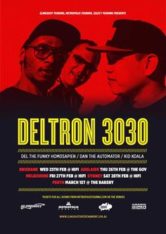 """The underground hip-hop supergroup Deltron 3030 features Deltron Zero (Del Tha Funkee Homosapien), the Cantankerous Captain Aptos (producer/remixer Dan """"The Automator"""" Nakamura), and Skiznod the Boy Wonder (turntablist Kid Koala).  Much like Nakamura's previous conceptual projects, Dr. Octagon and Handsome Boy Modeling School, Deltron 3030's self-titled album and single send the hip-hop triumvirate into the year 3030, where -- as the sole survivors of earth -- they travel through the galaxy."""