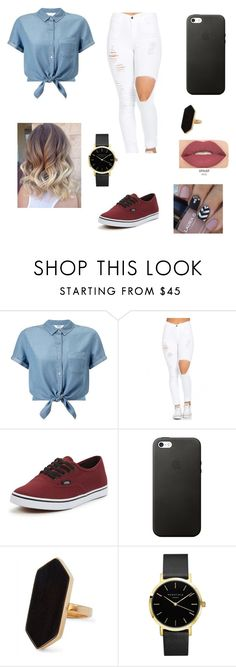 """""""Untitled #53"""" by gissellebeltre on Polyvore featuring Miss Selfridge, Vans, Jaeger and Smashbox"""