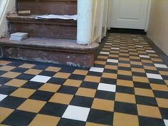 Tiled Hallway, Floor Design, Tile Floor, Flooring, Toilets, Inspiration, Home Decor, Future, Bathroom