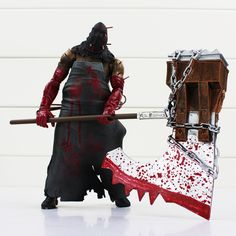 NECA Resident Evil RE Figures Biohazard Executioner Majini Action Figure Toys Child Figures Birthday Gifts Free Shipping