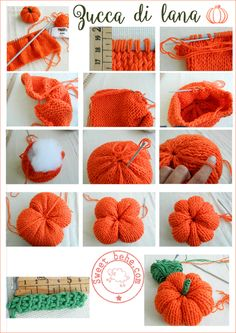 Fablous & Likeable Crochet Ideas With Patterns - Diy And Crafts Crochet Fall, Diy Crochet, Crochet Crafts, Yarn Crafts, Fabric Crafts, Food Crafts, Tutorial Crochet, Holiday Crochet, Halloween Knitting Patterns